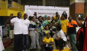 Winning Team of African Championships 2015
